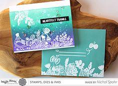 Enveloper Little Birdie Stamp Set – Waffle Flower Crafts