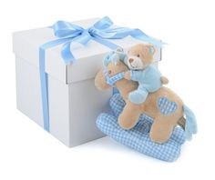 Baby Boy Musical Rocking Horse in a Box available online at http://www.babycity.co.uk/