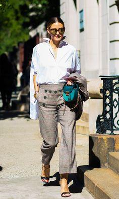 How Fashion Editors Assemble Designer Wardrobes on a Topshop Budget via @WhoWhatWearUK