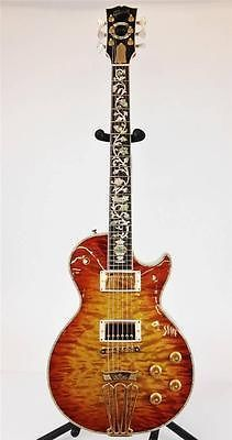 $14,000 Authentic RARE Gibson Les Paul Custom Shop Ultima Electric Guitar w/Showcase