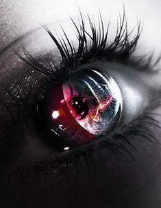Eyes . Iris . Retina