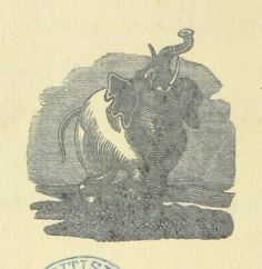 """Image taken from page 44 of '[The Elephant's Ball and Grand Fete Champetre. [In verse.] Intended as companion to those much admired pieces, The Butterfly's Ball, and The Peacock """"at home."""" Illustrated with elegant engravings [by William Mulready]. By W. B 