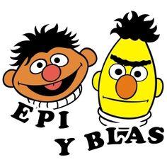 Dibujo de Epi y Blas