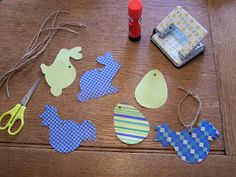 Easter DIY free Template's