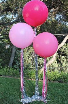 Preciosos globos para una fiesta especial! / Lovely balloons for a special party!