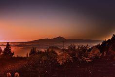 Tenerife visto desde las cumbres de Gran Canaria. @grancanariavisit