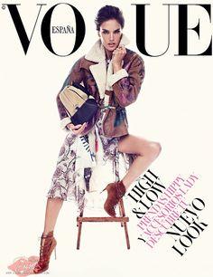 Vogue Espanha Novembro 2014   Alessandra, Kati e Edita por Alexi Lubomirski [Capas]