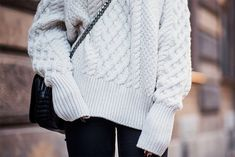 by Sania Claus Demina We just can't get enough of knitwear and one particular kind that is worth investing in is the cable knit sweater. We've gone through our favourite online stores and found some r