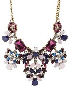 Vintage-Inspired Rhinestone Statement Necklace