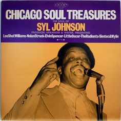 SYL JOHNSON / CHICAGO SOUL TREASURES / BLUES / R&B / P-VINE JAPAN
