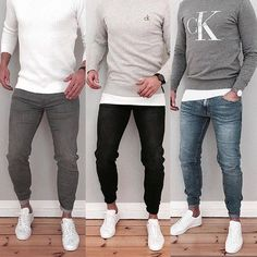 Royal Fashionsit is the best Men's Fashion Guide. Here you will find the latest trends on men's style. Get inspired with these outfits and leave your comment below. Source by royalfashionist casual outfits Sweater Fashion, Sweater Outfits, Men Sweater, Mode Outfits, Casual Outfits, Men Casual, Easy Outfits, Dress Casual, Der Gentleman