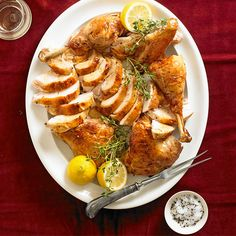 Lemon-Thyme Split-Roasted Turkey from the Better Homes and Gardens Must-Have Recipes App