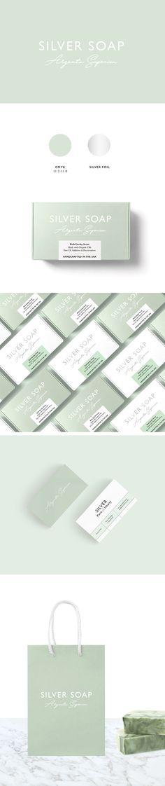 Silver Soap Branding by Viola Wyszynska | Fivestar Branding Agency – Design and Branding Agency & Curated Inspiration Gallery