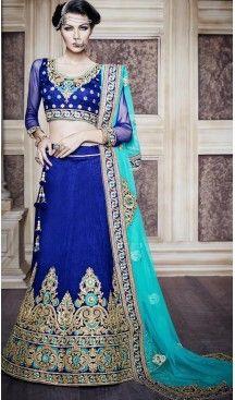 Indian Bridal Wedding Lehenga in Dupioni Raw Silk Royal Blue Color #heenastyle, #designer, #lehengas, #choli, #collection, #women, #online, #wedding , #Bollywood, #stylish, #indian, #party, #ghagra, #casual, #sangeet, #mehendi, #navratri, #fashion, #boutique, #mode, #henna, #wedding, #fashion-week, #ceremony, #receptions, #ring , #dupatta , #chunni , @heenastyle , #Circular , #engagement