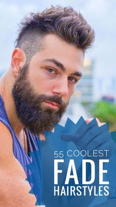 55 Coolest Fade Hairstyles for Men Boys Fade Haircut, Types Of Fade Haircut, Short Fade Haircut, Taper Fade Haircut, Mens Hairstyles Fade, Haircuts For Men, Modern Haircuts, Men's Hairstyles, Medium Hairstyles