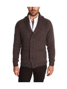 Devred Cardigan col châle tricotage fantaisie (55e)