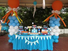 Under the sea birthday party.