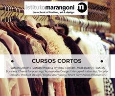 Algunos de los Cursos Cortos del Istituto Marangoni informes ventas@marangonimexico.com.mx