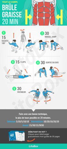 Perdre du ventre et perdre du gras en 20 minutes chrono !