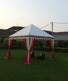 Facinating Pergola Tent by www.indiantents.com
