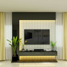 Tv Unit Decor, Tv Wall Decor, Wall Tv, Tv Wall Panel, Modern Tv Unit Designs, Wall Unit Designs, Tv Unit Furniture Design, Tv Unit Interior Design, Modern Tv Room