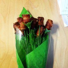 Bacon flower - yummy | Álmaim virága: a szalonna csokor