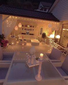 Linda decoração, para momentos de relaxamento e encontros de família e amigos...