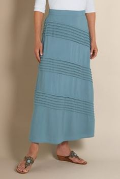 Fabulous Pleated Skirt from Soft Surroundings