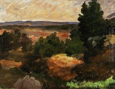 Landscape5 Paul Cezanne Reproduction | 1st Art Gallery