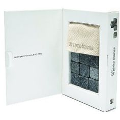 Teroforma Whisky Stones: Ideal for chilling your favorite spirit without diluting its flavor 3/4 - 7/8-inch, Natural, Set of 9. Milled in Vermont by the oldest soapstone workshop in the US. Add three chilled stones to your next dram, let stand for 5-minute and enjoy. Set of 9 stones and muslin storage bag. Not for use with larger volume drinks.... Click Image For more Details