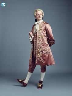 Andrew Gower as Prince Charles Stuart, Outlander Season 2 .Dragonfly In Amber. Claire Fraser, Jamie Fraser, Outlander Season 2, Outlander Casting, Outlander Tv Series, 18th Century Clothing, 18th Century Fashion, Historical Costume, Historical Clothing