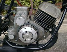 Engineering Works, Race Engines, Motorcycle Engine, 50cc, Motorcycles, Garage, Racing, Bike, Vintage