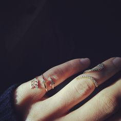 Love these rings!