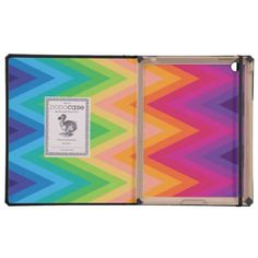 iPad DODOcase Retro Zig Zag Chevron Pattern  http://www.zazzle.com/ipad_dodocase_retro_zig_zag_chevron_pattern-256918549452254033