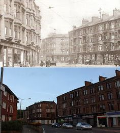 Glasgow Punter: Maryhill is Wonderful (Walking Through Maryhill With Some Old Photos as a Guide) Old Pictures, Old Photos, Bin Shed, St George's Cross, George Cross, Glasgow City, Best Pubs, Great Western, Police Station