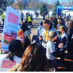 #regram from @f_c_marketing Make sure to stretch before the @bolderboulder #ColderBoulder 5K this Saturday!  And be sure to warm up by the finish line with a steaming cup of yummy Boulder Organic!  #warmup #wemakesoupbetter #organic #gardenfresh #glutenfree #bouldercolorado #5k