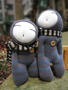 Grace--sock dolls More