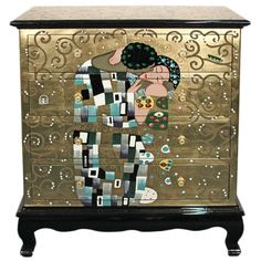 gustav klimt kommode der kuss gustav klimt casa collection pinterest klimt und gustav klimt. Black Bedroom Furniture Sets. Home Design Ideas