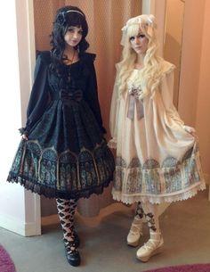 I wish I knew the name of those dresses >_