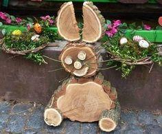 Holen Sie den Frühling in Ihr Haus mit diesen 12 tollen Osterideen aus Holz. - DIY Bastelideen