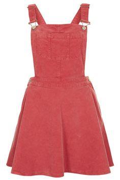 MOTO Rose Cord Pini Dress #topshop