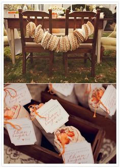 This garland is simple yet beautiful.  It's amazing how basic stuff in large quantities can make a big impact.