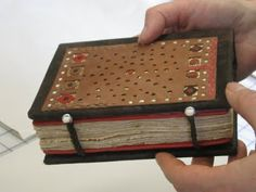 Don Taylor: Bookbinder: late coptic bookbinding at CBBAG 2009