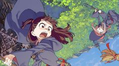 Little Witch Academia anime TV series coming to Netflix