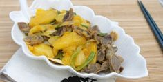 Fried Chicken Gizzard with Pineapple Recipe
