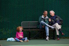 President Barak Obama  President Joe Biden