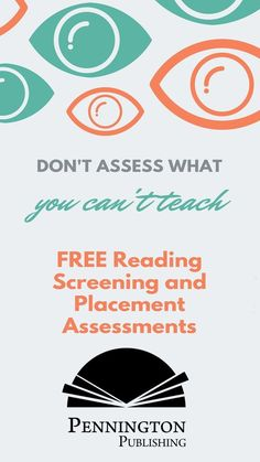 Get 13 whole class reading screening and placement assessments for grades 3-adult with teacher and student copies, audio files, and recording matrices... all FREE. A great way to get Back to School.