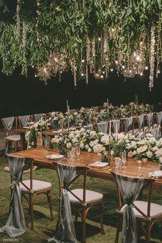 Night Wedding Decor, Starry Night Wedding, Moon Wedding, Celestial Wedding, Bali Wedding, Star Wedding, Dream Wedding, Wedding Reception Flowers, Rustic Wedding