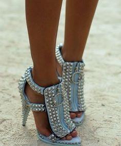 10 Best Riveting Fashion ~ Women's Shoes images | Shoes