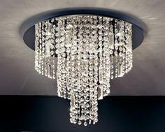 Plafoniere Cristallo E Acciaio : Fantastiche immagini su plafoniere da soffitto nel